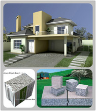 2014 new lightweight EPS cement sandwich wall system green smart home prefab with CE, BV & ISO certificate