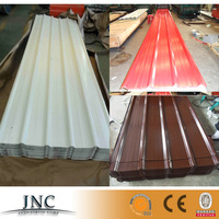 China factory supply prime white corrugated aluminium insulated metal roofing sheet price per ton