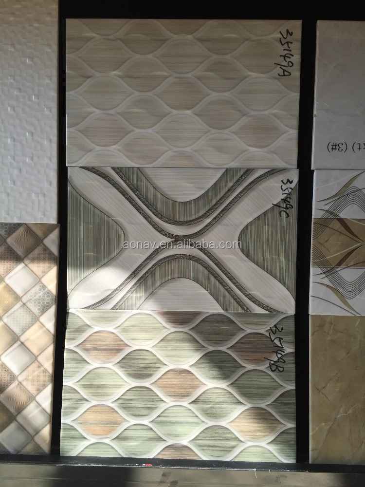 AONAV new design 300X600 decorative up and down wall tile for bedroom Quality Assured
