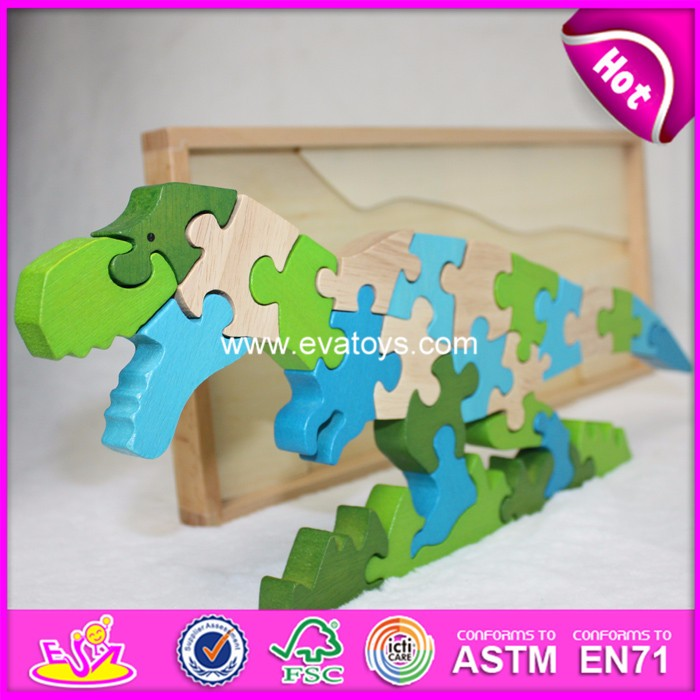 2017 intelligent wooden puzzle/custom jigsaw puzzle/3d puzzle game
