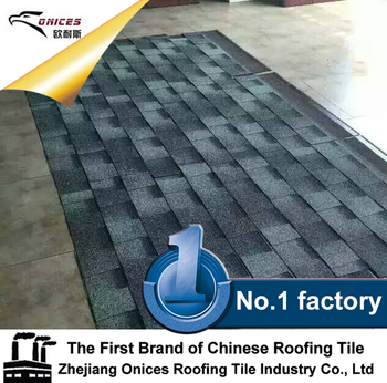 Building decoration Cheap Asphalt Copper 4 Tab Shingles