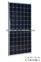 200W Mono Crystalline Solar Panel PV Module With TUV VDE UL MCS CE CEC PV Cycle SONCAP Approval Standard