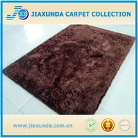 Alibaba quality long pile microfiber polyester shaggy carpets