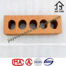 Durable load-bearing building perforated lightweight hollow clay block