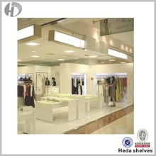 Double-pole clothes display stand shop furniture garment display