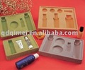 Cosmetic Flocking Plastic Slide Coating disposable blister no-harm non-toxic durable container/box