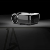 GP70 LED Projector 3D full hd Mini proyector hdmi 1200 lumens home theater multimedia projetor By Salange Mini LED projector