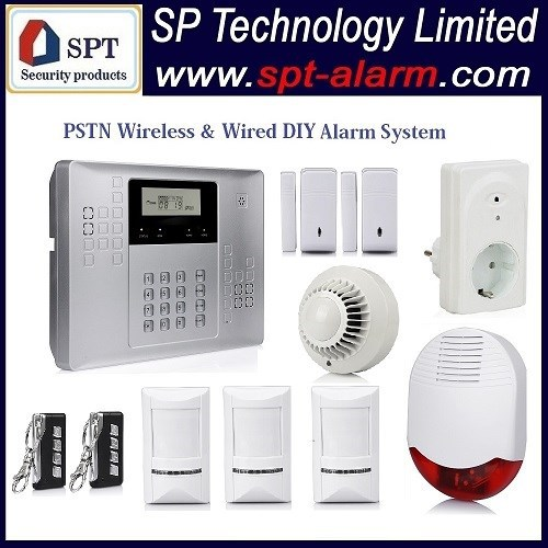 CP-21B PSTN manual auto dial home alarm system wireless 433mhz 868mhz, home alarm system wireless Wholesale