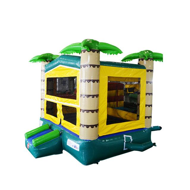 coupe du monde promotion palm gonflable maison de rebond commercial