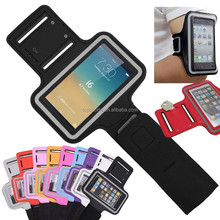 Universal Running gym bag Neoprene Sport Arm band colorful Case cover For iphone 6 5 with key slot
