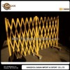 Yellow Portable Aluminum Folding Gate With