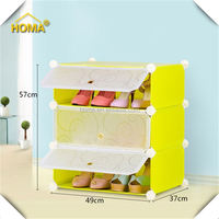 Colorful Best Quality Corner Shoe Cabinet
