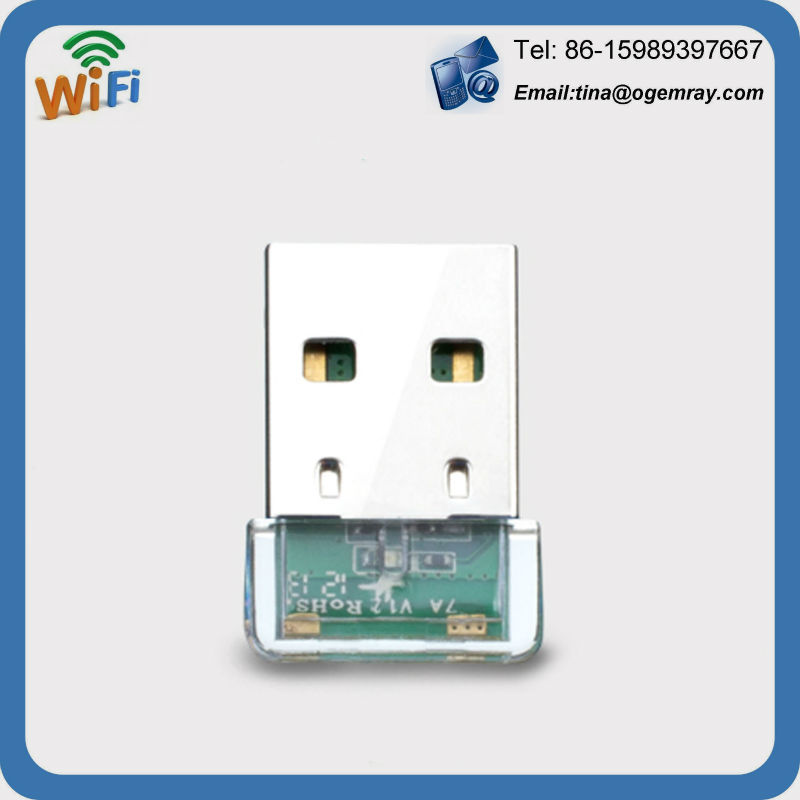 WIFI 150MBPS WIRELESS ADAPTOR 802.11 B G N LAN NETWORK MINI USB DONGLE ADAPTER