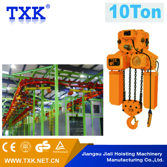 China factory price wire rope electric hoist from 0.5t to 40t and 6m to 30m with single or dual speed for Korea
