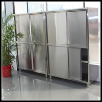 China Production Stainless Steel Catering Equipment/Kitchen Equipment Used Kitchen Cabinet/Pantry Cabinets