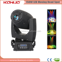 IRIS controlled pretty led disco lighting DMX 512 moving head led spot 150 watt