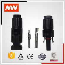 25 years warranty IP67 MC4 solar PV power connector Male and Female Set PV Wire Cable accessory