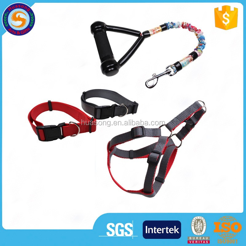 Hot sale and most popular pet dog retractable leash harness,collar and leash