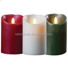 flameless Led candles lights with flicker flame with timer/or remote control