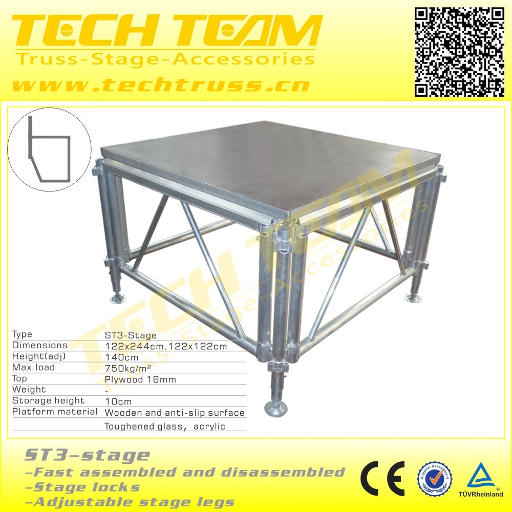 Used Stage aluminum global truss