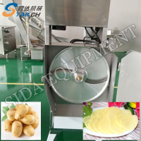 Fully Automatic Potato Chips Frying Machine