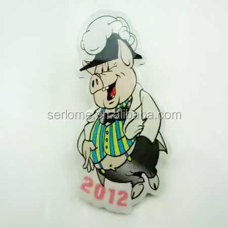 Various Pig Shaped Pin Badges for Gifts