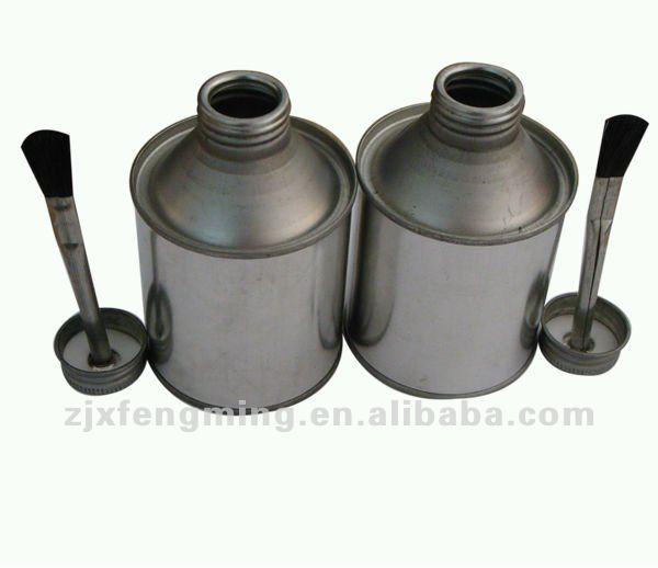 Tinplate cans for cleaning,pvc adhesive,metal screw cap