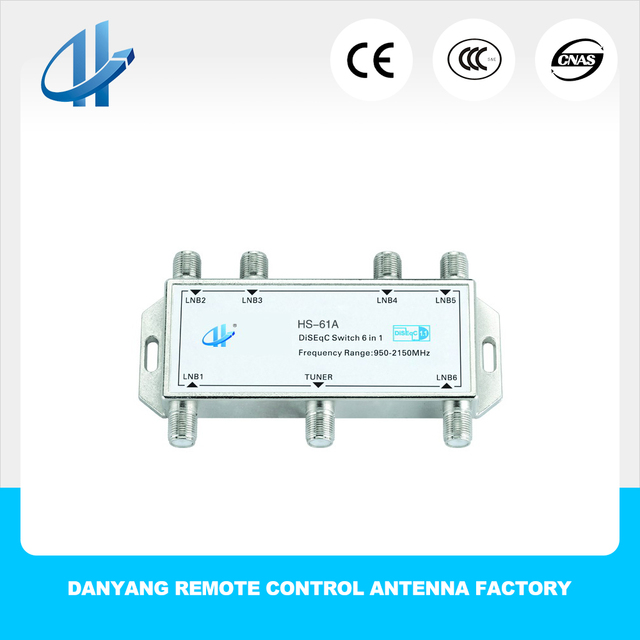Hwashen 4x1 Diseqc Switch 4 6 8 In 1 Out Water Proof