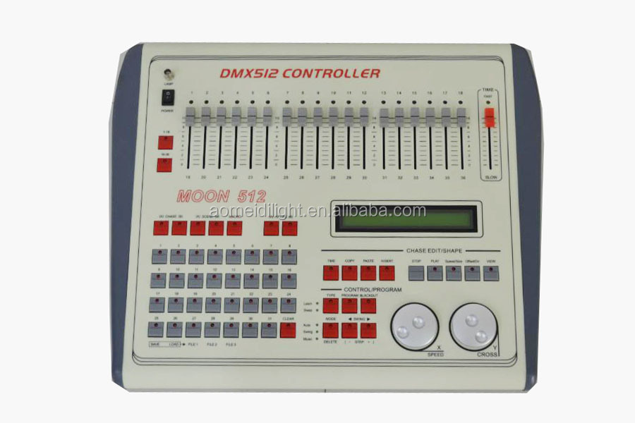 Professional stage light DMX 512 channel dj controller