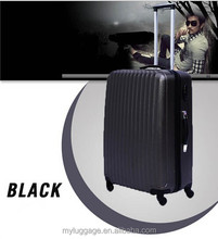 ABS+PC business carry on trolley case Laptop luggage suitcase