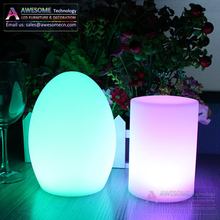 wireless oval shape table top light / cafe bar table lamp