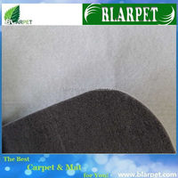 Good quality branded colourful non woven exhibition carpet