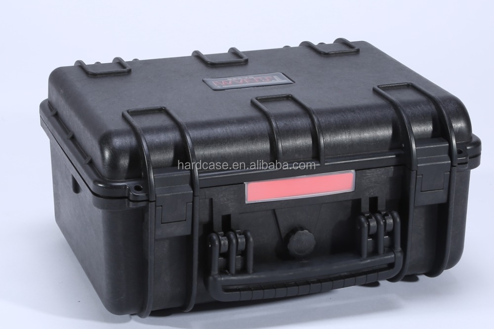 Hard plastic waterproof equipment carrying case with handle IP67 waterproof certification RC-PS 195