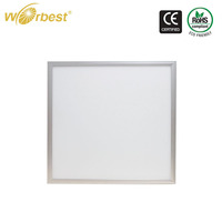 Factory Supply CE Approved ultral thin sliver frame 80lm/w 600*600mm Led Panel Light for Office Hotel Housing
