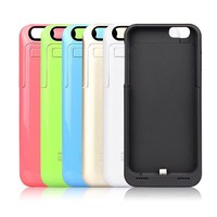 3500Mah external battery cover For iphone 6 battery case