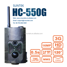 0.5s Trigger Time 3G GPRS GSM SMS MMS Hunting Trail Camera HC-550G