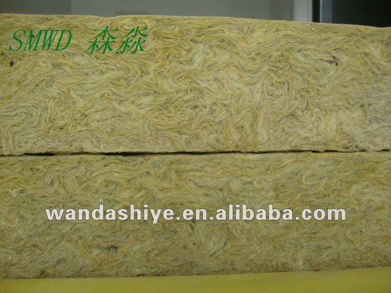 sound absorption coefficient of rockwool with good fiber