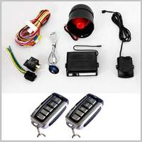 Lixing Quality 1 Way Car security alarm system&Ignition Immobilize &Emergency Disarm