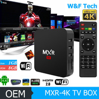 HOT and FAST selling Quad Core 2g Ram 8g Rom android 5.1 mxv plus quad core octa core 2G+8G 4k player tv box