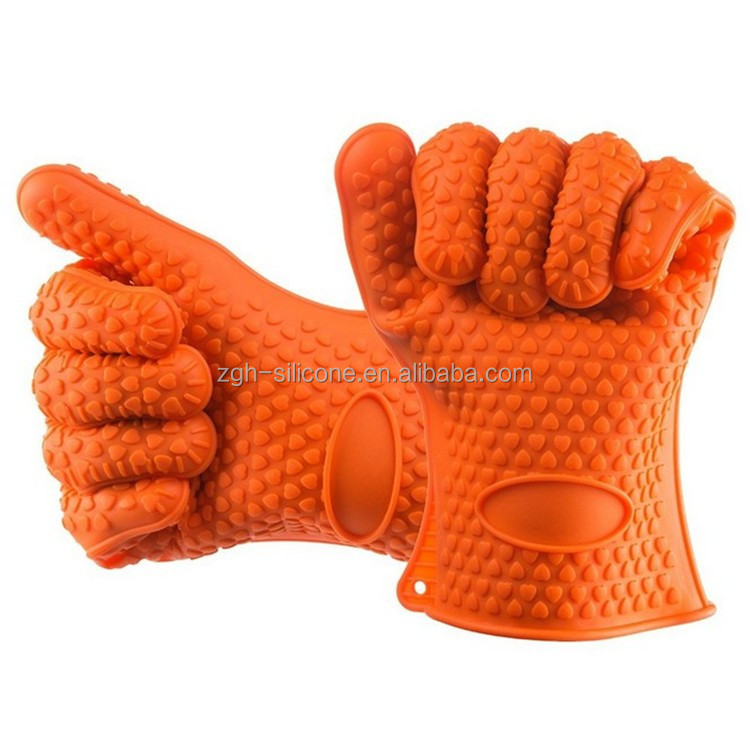 Heat resistant Silicone Cooking Gloves Protector Barbecue Gloves