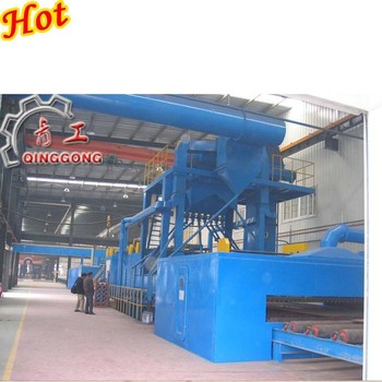 Plates and Sections Shot Blasting Machine