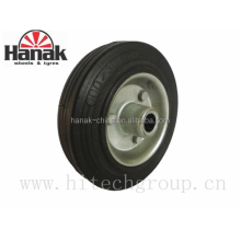 100mm small rubber wheels with solid tire