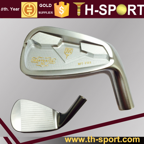 One length golf iron club set forged