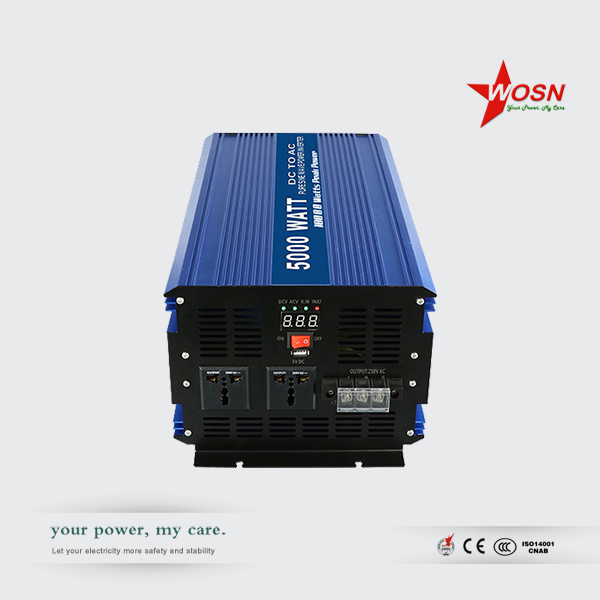 2017 Hot sale off grid inverter 5kw pure sine wave hybrid inverter 5000 watt 220 volt