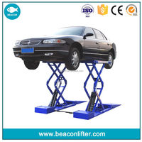 Factory top sell hydraulic portable scissor car lift