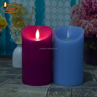 paraffin scented wax with lead free wick candles
