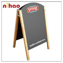 Stand-Up Wooden Kid Writing Blackboard