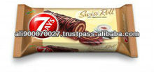 SWISS ROLL 7 DAYS CAPPUCCINO DECORATION 200g