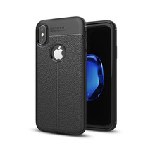 high quality shakeproof leather tpu auto focus phone case for iphone x