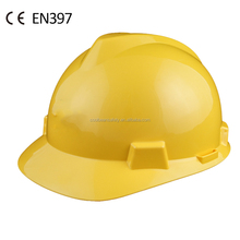 CE construction industrial V type safety helmet